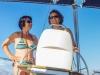 Die Frauen haben das Schiff sicher in der Hand