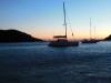Abend in der Ormos Kolona auf Kythnos