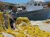 Fischernetze auf Kythnos