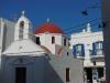 Eine der vielen Kirchen in Mykonos